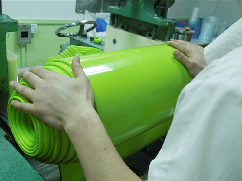 mixing silicone rubber