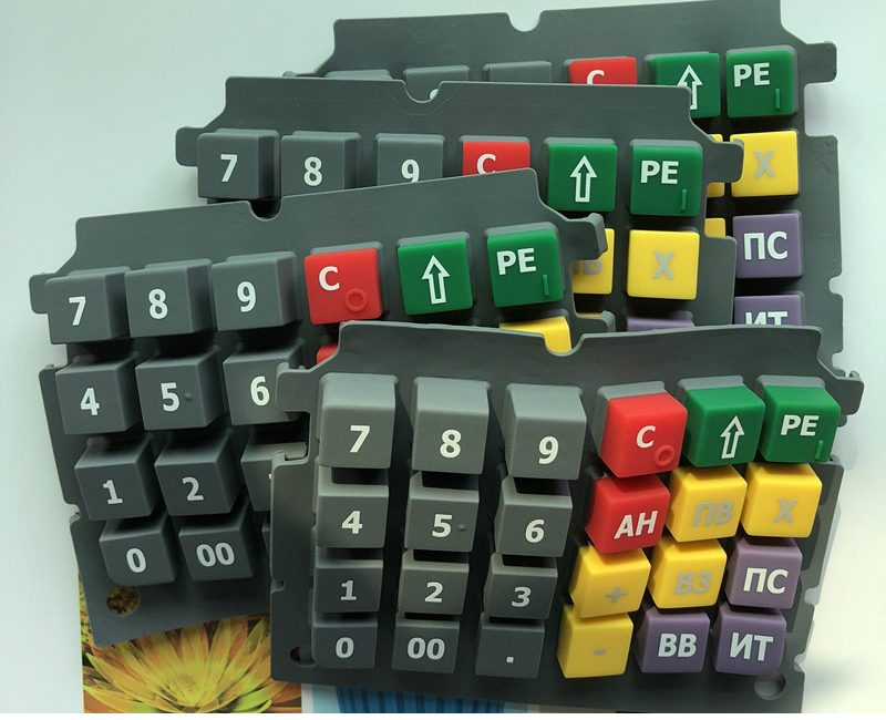 silicone keypads for POS device