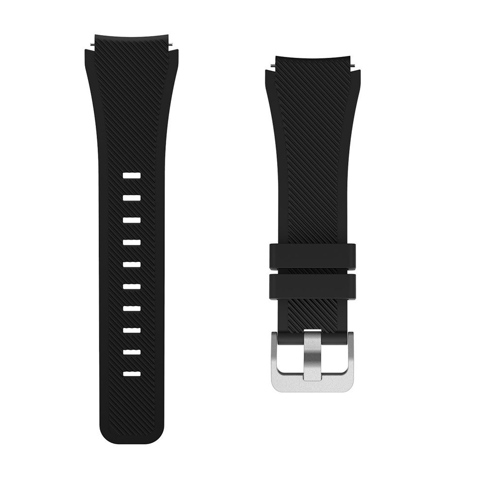 Silicone watch band fit with Samsung Galaxy Watch