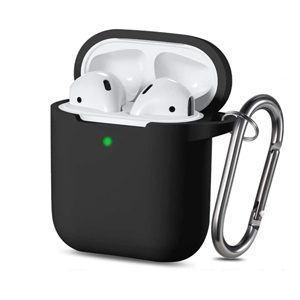 silicone rubber protective case cover for Airpods gen 1 2